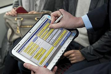 Panasonic представил в Москве взрывозащищенную версию планшета для нефтегазовой отрасли